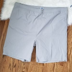 NEW 3XL Tall nylon shorts loose stretch waistband